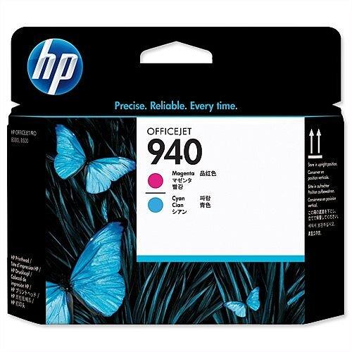 HP 940 Magenta Cyan Inkjet Printhead C4901A