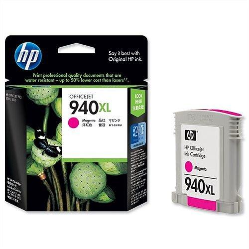 HP 940XL Magenta Ink Cartridge C4908AE