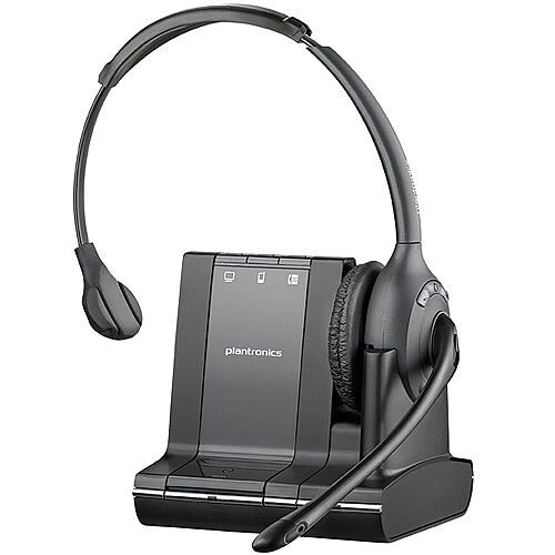 Plantronics Savi W710-M 3in1 Monaural Microsoft Lync Certified DECT Headset