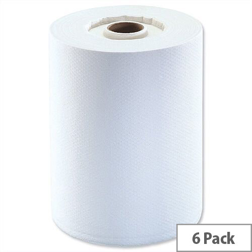 Tork enMotion Hand Paper Towel Rolls Continuous 2-Ply 143m White (6 Rolls) Ref K90225