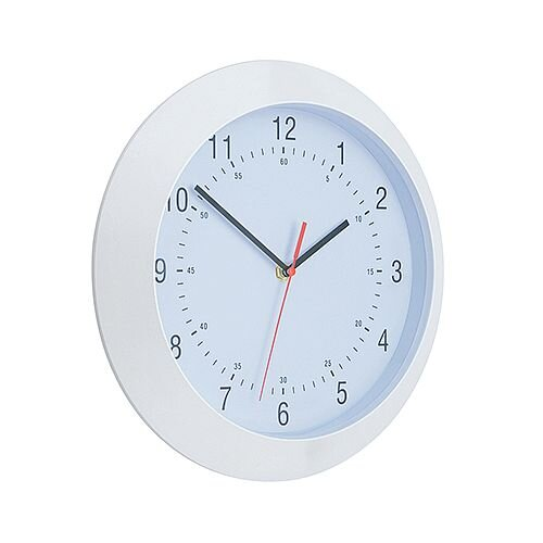 White Wall Clock Diameter 250mm