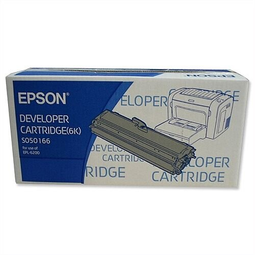 Epson S050166 Black Toner Cartridge  C13S050166 6000+ Pages
