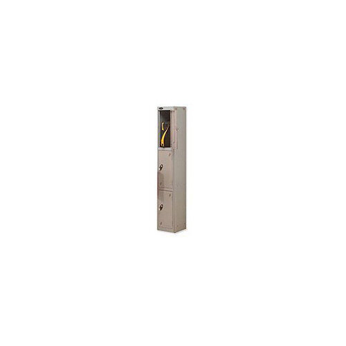 Probe 3 Door Locker Hasp &Staple Lock Extra Depth ACTIVECOAT W305xD460xH1780mm Silver