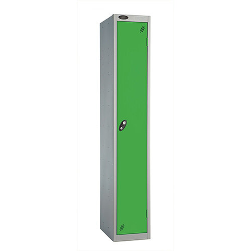 Probe 1 Door Locker ACTIVECOAT W305xD305xH1780mm Silver Body Green Doors
