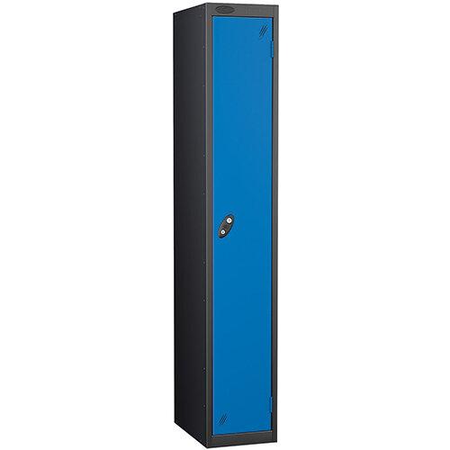 Probe 1 Door Locker ACTIVECOAT W305xD305xH1780mm Black Body Blue Doors