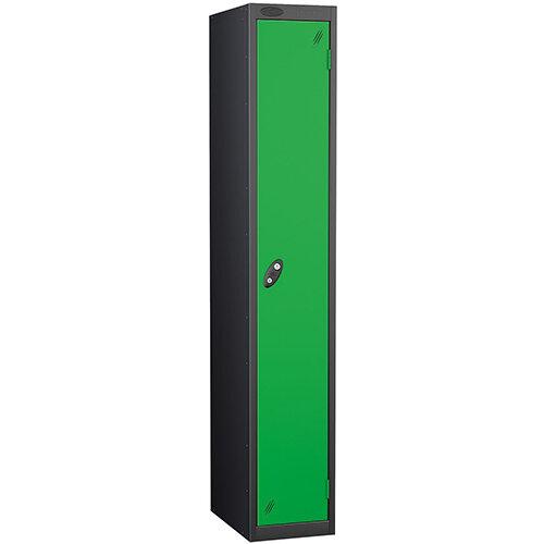 Probe 1 Door Locker ACTIVECOAT W305xD305xH1780mm Black Body Green Doors