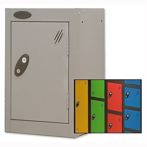 1 Door Small Locker Extra Deep Black Blue Trexus