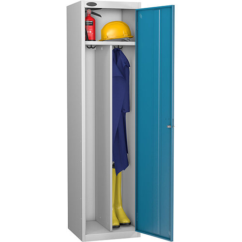 Probe Clean Dirty Locker W460xD460xH1780 Silver Body Blue Door