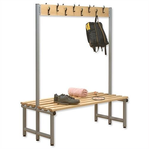 Double Sided Bench with Hooks 2000x720 Trexus