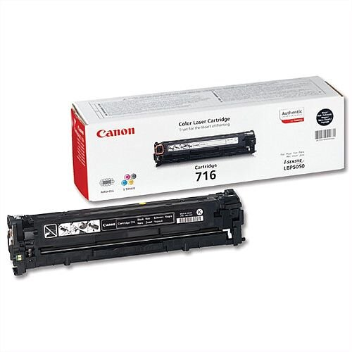 Canon 716 Black Toner Cartridge 1980B002 716BK