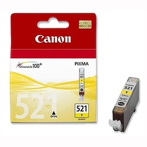 Canon CLI-521Y Yellow Ink Cartridge 2936B001