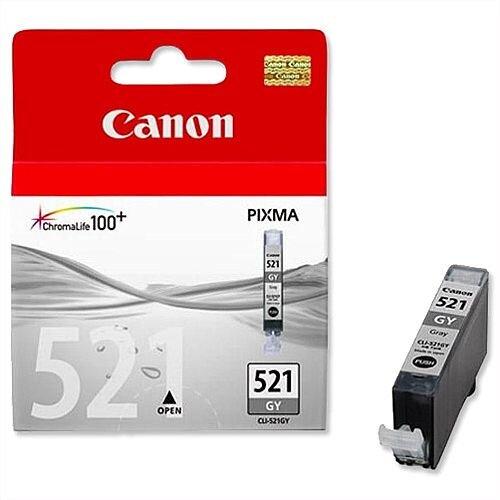 Canon CLI 521 GY Grey Ink Cartridge 2937B001