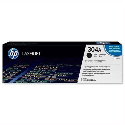 HP 304A Black LaserJet Toner Cartridge CC530A