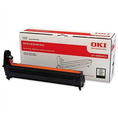 Oki 44064012 Laser Image Drum Black For C801 C810/830