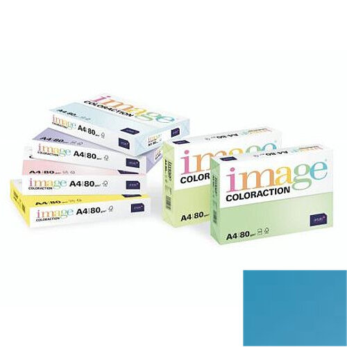 Image Coloraction Malta Midi Blue A4 Paper 80gsm Pack of 500
