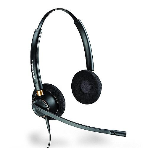 Plantronics EncorePro HW520 Headset Binaural Noise-Cancelling 89434-02