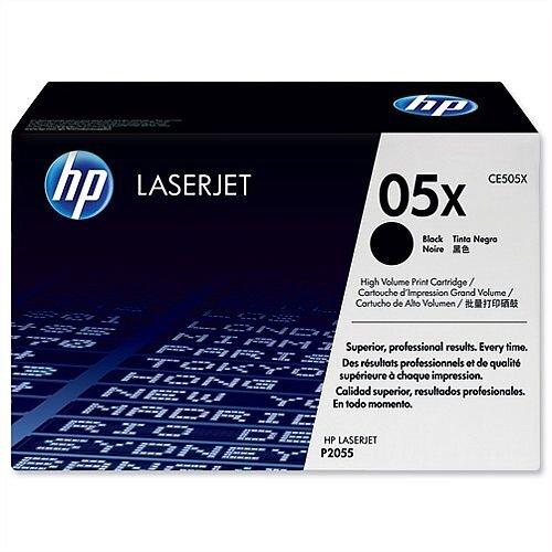HP 05X Black High Yield Laser Toner Cartridge CE505X