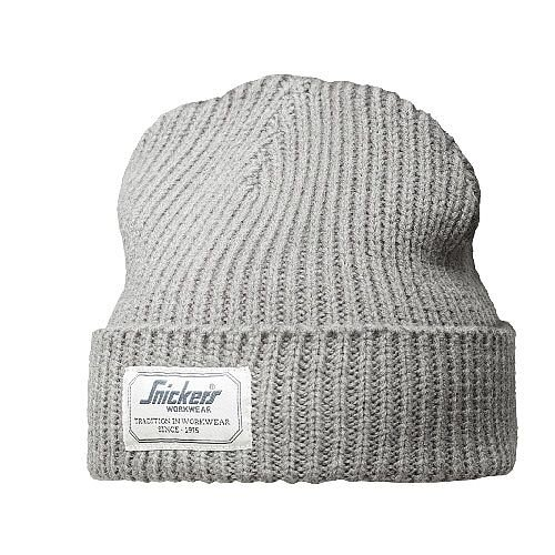 Snickers 9023 AllroundWork Fisherman Beanie One Size Grey Melange