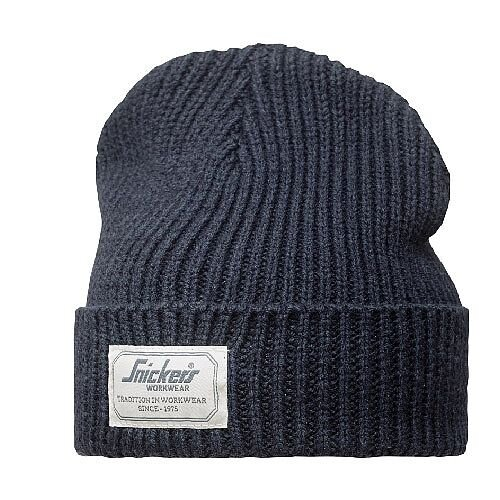 Snickers 9023 AllroundWork Fisherman Beanie One Size Navy