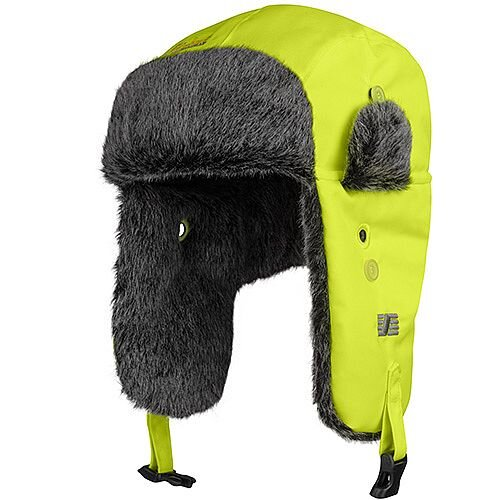 Snickers RuffWork High-Vis Heater Hat Yellow Size S/M WW7