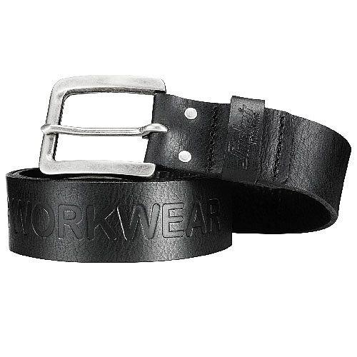 Snickers 9034 Leather Belt 110cm Black