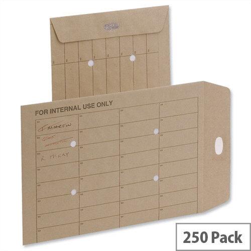 5 Star Office Orange C4 Internal Mail Envelopes Pocket Resealable 120gsm (Pack 250)