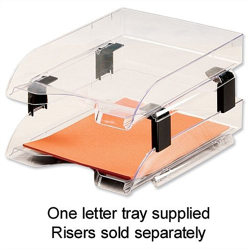 Stackable Letter Tray Crystal 5 Star Huntoffice Ie