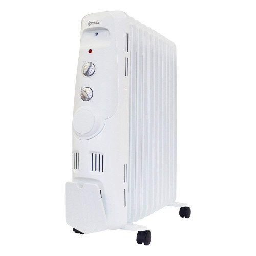 Igenix 2kW Oil Filled Radiator White Ref IG2600