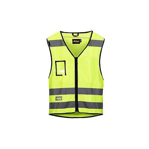 Snickers High-Vis Vest Yellow Class 2 Size XXL 9153