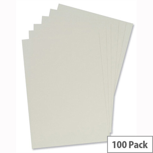 Binding Covers Leathergrain A4 Ivory Pack 50x2 5 Star