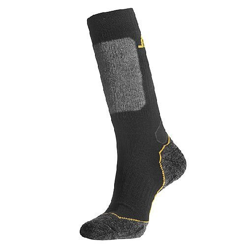 Snickers 9203 Wool Mix High Socks Size 43-45 Black/Grey