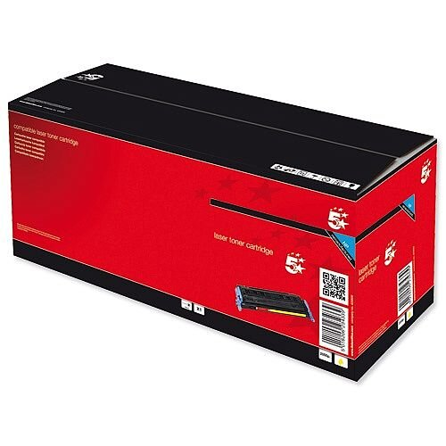 Compatible HP 502A Yellow Toner Cartridge Q6472A 5 Star