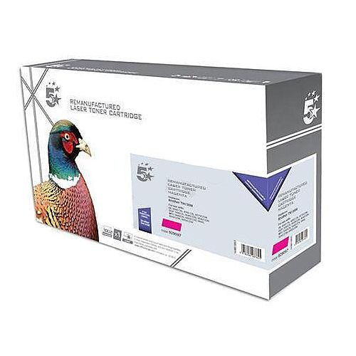 Brother TN-135M Compatible Magenta High Yield Laser Toner 5 Star