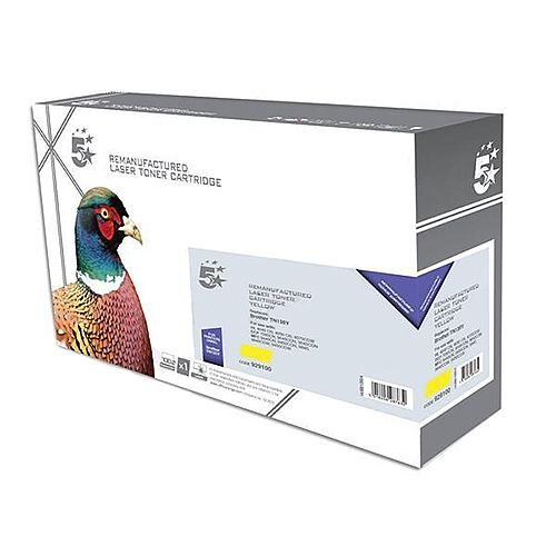 Brother TN-135Y Compatible Yellow High Yield Laser Toner 5 Star