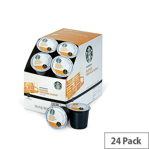 Starbucks Blonde Veranda Blend Pack 24 K-Cup pods for Keurig