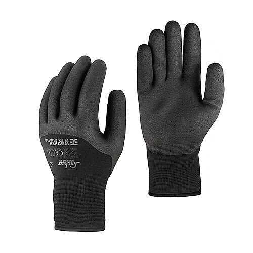 Snickers 9325 Weather Flex Guard Gloves Size 9 [Pack of 10]