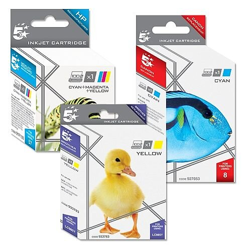 HP 364XL Compatible Yellow Ink Cartridge CB325EE 5 Star