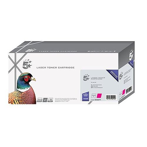 Brother TN325M Compatible Magenta High Yield Toner 5 Star