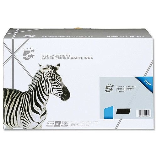 HP 05X Compatible Black Toner Cartridge Twin Pack CE505XD 5 Star