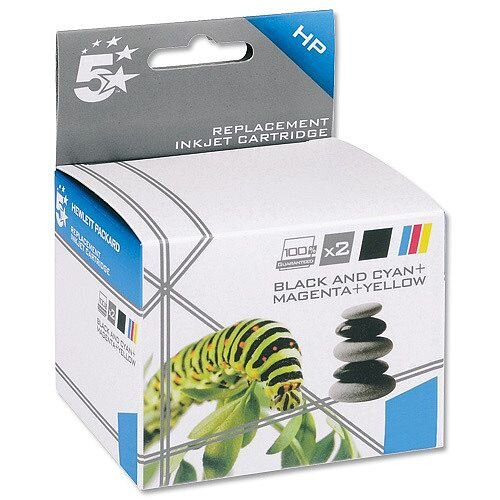 5 Star Compatible Inkjet Cartridges 4 Colour CMYK [HP No. 920XL C2N92AE Alternative] [Pack 4]