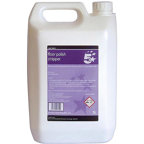5 Star Floor Polish Stripper 5 Litre