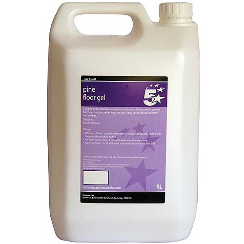 5 Star Pine Floor Cleaning Gel 5 Litre