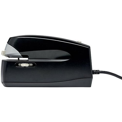5 Star Office Electric Stapler Power-save Capacity 25 Sheets 2 Metre Cord Indicator Light Black/Grey