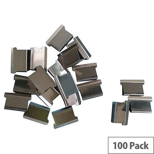 5 Star Office Ultra Clip 60 Refills Stainless Steel  Box of 100
