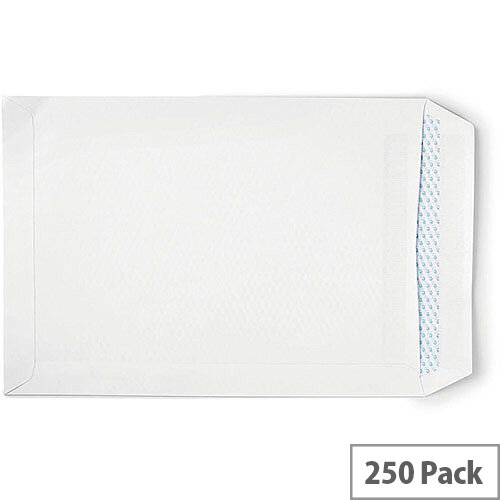 5 Star Eco  C4  Envelope Recycled Pocket Self Seal 90gsm White  Pack of 250