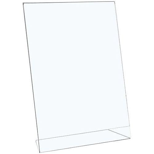 5 Star Office Sign Holder A4 Portrait - Made From Polystyrene Clear Plastic. Ideal For Use In Reception Areas, Businesses, Restaurants, Personal Home Use &More.