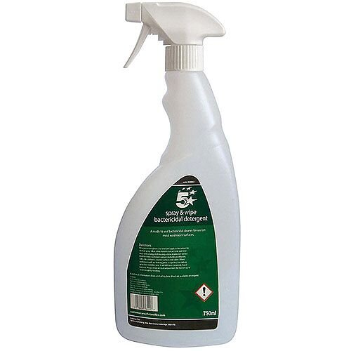 5 Star Facilities Empty Bottle for Concentrated Bactericidal Detergent 750ml