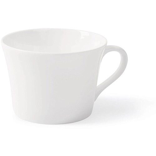 5 Star Facilities Fine Bone China Tea Cups White Pack of 6