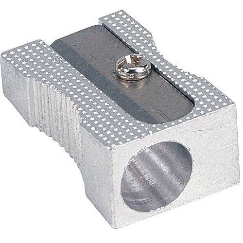 5 Star Office Pencil Sharpener Pocket-sized Metal for Max. Diameter 8mm Single Hole