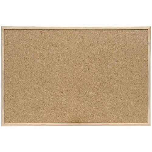 5 Star Eco Cork Board with Pine Frame W 1200 x H 900 mm
